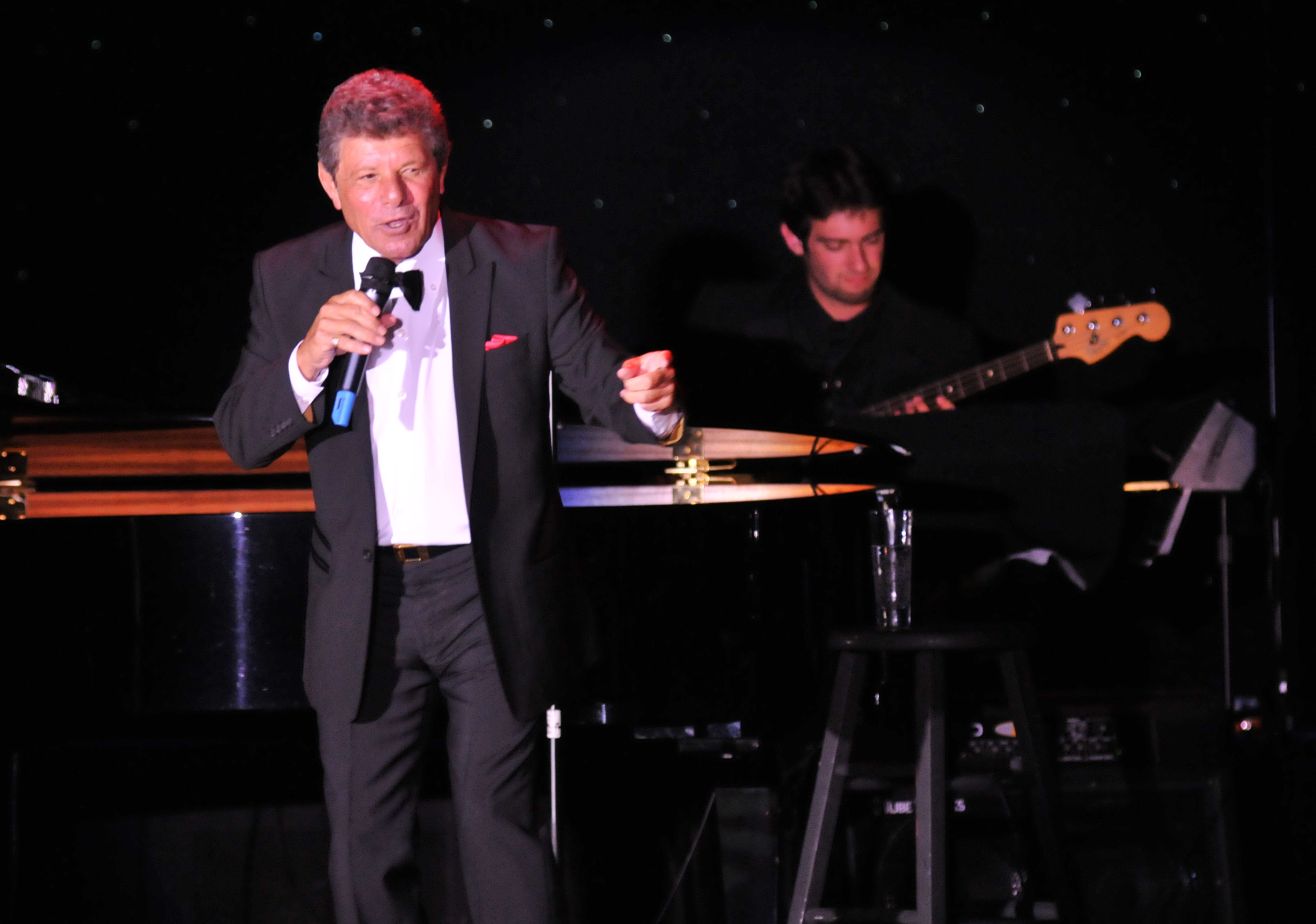 with Frankie Avalon