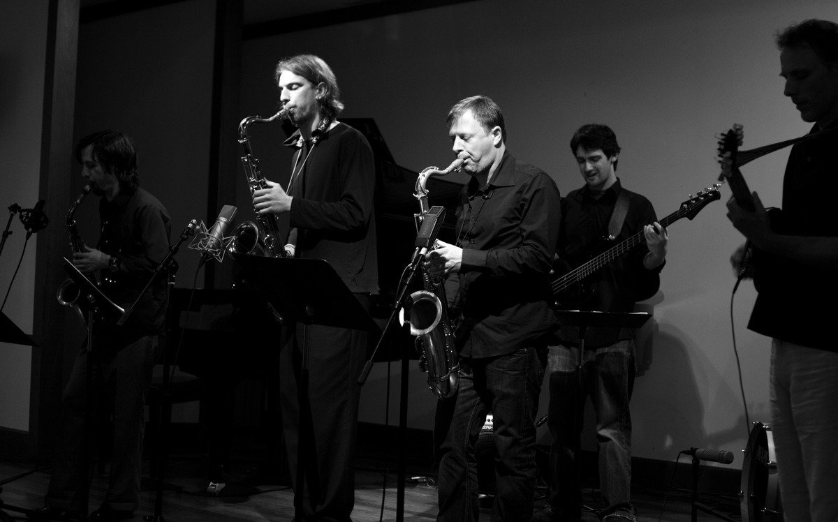 with Chris Potter, Brad Shepik, Lenart Krečič