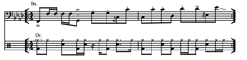 "Bass transcription of Meshell Ndegeocello's ""Dirty World"""